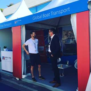 Peters & May Stand Cannes Yachting Festival 2017