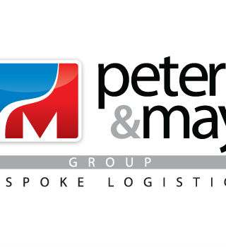 Peters & May Bespoke Logistics Logo