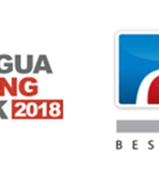 Antigua Sailing Week 2018 Logo, Peters & May Logo, Antigua and Barbuda Tourism Logo