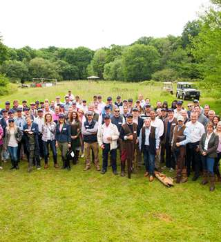 Peters & May team at the annual charity shoot