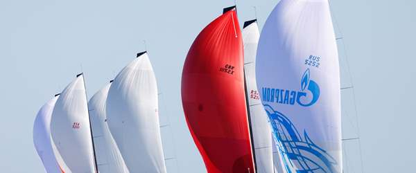 52 SUPER SERIES Fleet Racing in Menorca Sailing Week