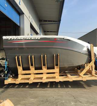 Fishing Boat transported for World Predator Classic 2017