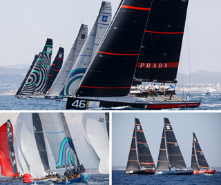 Peters & May 52 SUPER SERIES Puerto Portals Collage
