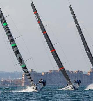 52 SUPER SERIES Valencia Sailing Week 2018 Racers Sailing