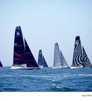 52 SUPER SERIES Fleet Racing in Cascais