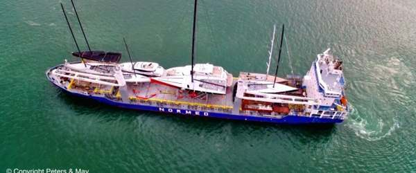 Vessel full of Sailing Yachts and Motor Boats