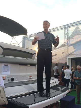 Speach given at Summer Boat Show