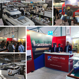Peters & May at Dusseldorf Boat Show 2019 Collage