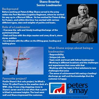 Find out more about Senior Loadmaster Shane Brearley