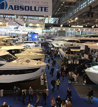 Dusseldorf Boat Show 2018 Exhibition Hall
