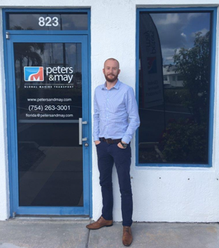 Matt Penfold Managing Director (USA) stood outside our Florida office