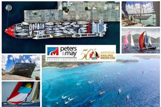 Antigua Sailing Week 2016 Collage of photos
