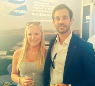 Peters & May Staff at Monaco Yacht Show
