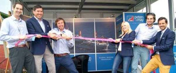 Peters & May team with Pink Lashing Charity Straps