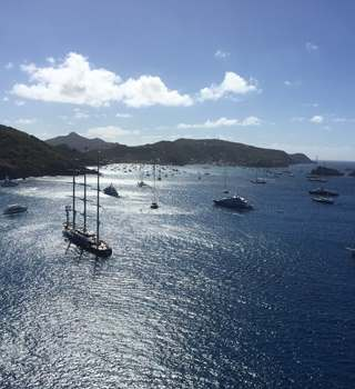St Barths - Superyachts on the Horizon