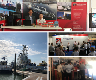 Peters & May at Seawork International 2018 - Collage