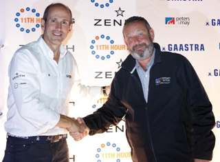Peters & May handshake to extend partnership with 52 Super Series for 3 years