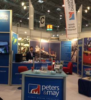 Peters & May Stand at Dusseldorf Boat Show 2016