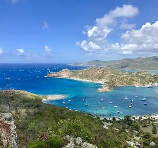 View from Shirley Heights - Antigua