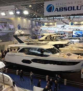 Yachts exhibiting at Dusseldorf Boat Show 2018