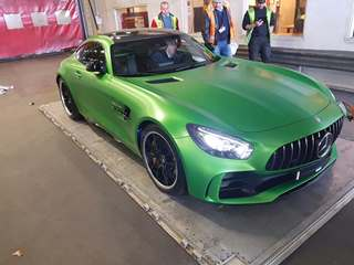 Mercedes-AMG GT R transported from Holland to the Miami International Boat Show