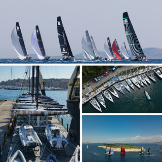 Highlights from Sibenik Sailing Week 2018 - Collage