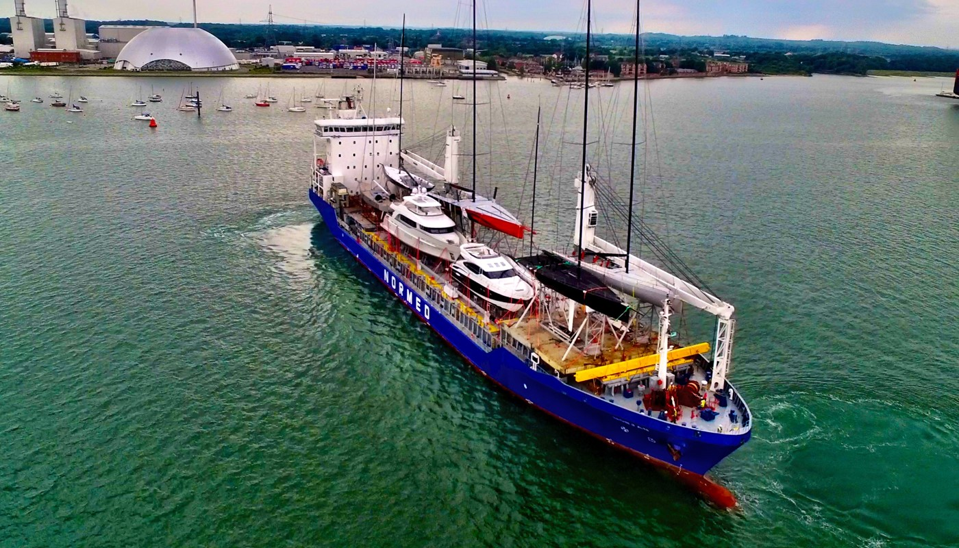 Six performance racing yachts shipped by Peters & May