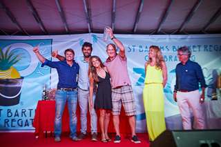 St Barths Bucket Regatta celebrations