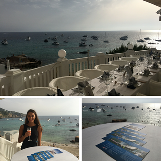 Peters & May at Sunseeker Owners Cruise Ibiza 2018 collage