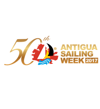 Antigua Sailing 50th anniversary logo