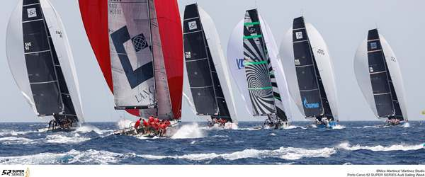 52 Super Series Fleet racing