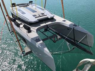 Peters & May transport a McConaghy MC-60 Catamaran from factory to Cannes ahead of Cannes Yachting Festival 2018