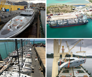 Peters & May shipping Superyachts and Leisure Yachts with the Carrier Team