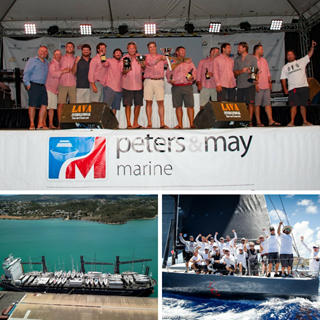 Peters & May Sponsorship of Antigua Sailing Week Collage 2018