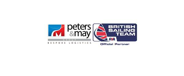 Peters & May and British Sailing Team Logo