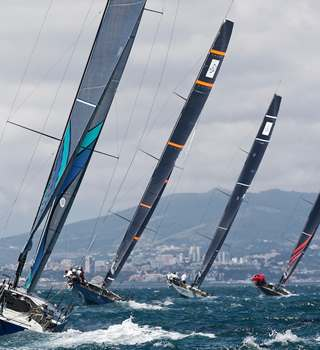TP52 Fleet racing the 52 SUPER SERIES Cascais