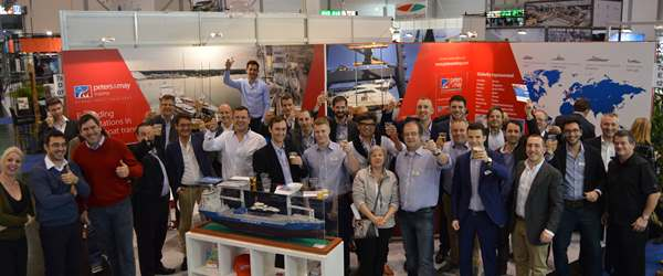 Peters & May team, partners & customers at Boot Dusseldorf