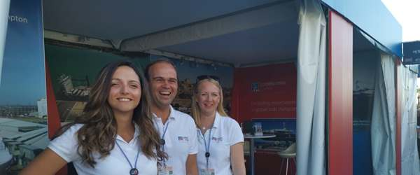 Peters & May Cannes Yachting Festival Team on Stand 2019