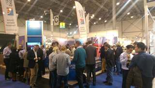 Peters & May's busy stand at Dusseldorf Boat Show 2016