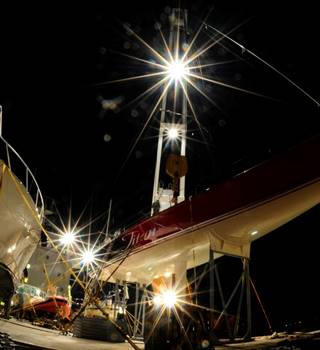Titan Sailing Yacht and Motor Yacht on deck of charter ship Credit Andre....jpg