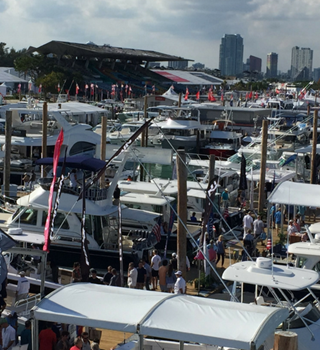 Exhibiting Motor Boats at Miami Boat Show 2018